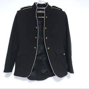 Zara military jacket S Small